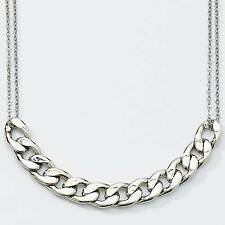 """Park Lane """"KOHRS"""" Necklace -  SILVER Chain Link (Smooth)  - Orig $65 -  Just In!"""