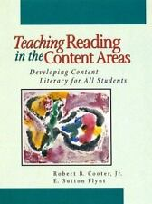 Teaching Reading in the Content Areas: Developing Content Literacy For All Stude
