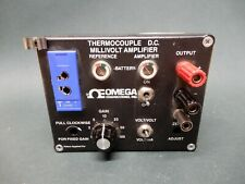 Omega Type T Thermocouple Dc Milivolt Amplifier New Batteries Used Untested