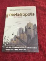Metatropolis Hardback First Edition New