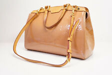 Auth Pre-owned Louis Vuitton Vernis Brea Mm 2-way Hand Bag w/Strap M91588 210261