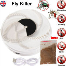 Fully Automatic Electric Rotation Fly Killer Bug Zapper Fly Catcher Insect Trap