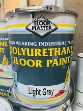 INDUSTRIAL - SHOWROOM -  GARAGE FLOOR PAINT LARGE 20LTR GREY - LIGHT GREY,,,