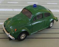 Faller AMS --  VW Käfer Polizei mit Blockmotor + 8 neue Repro Reifen