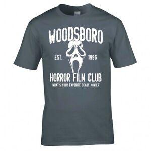 "SCREAM ""WOODSBORO HORROR FILM CLUB"" T-SHIRT"