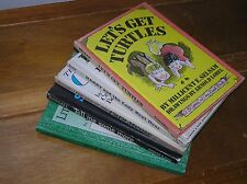 Vintage Lot of 4 I CAN READ Let's Get Turtles TELL ME SOME MORE Little Bear's