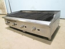 Cecilware Hd Commercial Nsf 48 Natural Gas 4 Burners Radiant Charbroiler