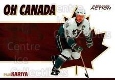 2003-04 ITG Action Oh Canada #5 Paul Kariya