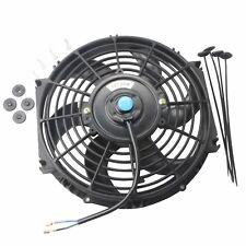 "10"" inch Universal Slim Pull Push Racing Electric Radiator Engine Cooling Fan"