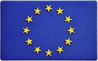 Euro Europa Europe Emblem Aufkleber 3D Flagge HR Art. 19164