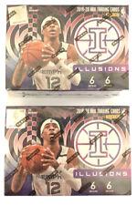 2019-2020 Panini Illusions Basketball NBA Unopened Blaster Box Lot of 2