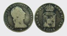 MILANO - FRANCESCO I 1815-1835 -AG/ 1/2 LIRA 1822