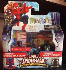 Marvel Minimates! Ultimate Spider-Man 2099 & Agent Venom! Walgreens Exclusive!