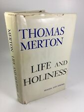 LIFE AND HOLINESS by Thomas Merton -1st/1st 1963 HCDJ  - religion monk A1