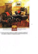 PUBLICITE  advertising 2000   LA MAISON COLONIALE  meubles