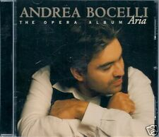 CD ALBUM 17 TITRE-ANDREA BOCELLI-ARIA / THE OPERA ALBUM