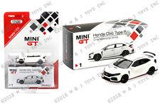 MINI GT 1/64 2018 HONDA CIVIC TYPE R WHITE NEW-PRE-ORDER