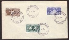 Turkey, 1954 NATO set on fdc first day cover         -BG67