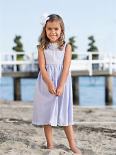 NEW Strasburg Children Beach Dress for Girls Summer 2-10 Pink Lavender White