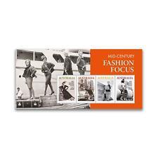 Stamps Australia 2020 - Mid-Century Fashion Focus mini sheet