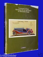 Carrozzeria Italiana Advancing Art Science of Automobile Design 1st Ed English