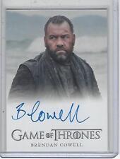 Game of Thrones Season 7 Brendan Cowell (FB) autograph FIRST