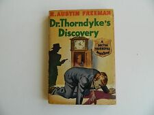 Dr Thorndyke's Discovery by R Austin Freeman Avon #10,  Globe Endpapers 1941