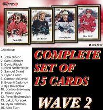 18-19 PORTRAITS WAVE 2 COMPLETE SET OF 15 CARDS Topps NHL Skate Digital Card