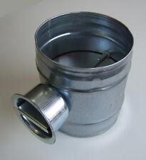 Volumenstromregler Drosselklappe Lüftung DAS NW 80 mm Wickelfalzrohr