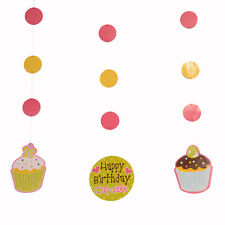 Cupcake Fancy Hanging Cut Outs|Cupcake Party|Party Decorations|Hanging Decor