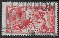 SG416. 5s.Rose-Red. FU-V.Fresh With Full Perfs.& Clean Back. Cat.£120. Ref.0/120