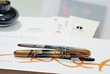 Namiki Yukari Royale COURT CARRIAGE WISTERIA Maki-e Fountain Pen NEW