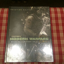 Call of Duty Modern Warfare 2 Prestige Edition Hardcover Strategy Guide NEW!