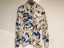 ESCADA 97% Cotton Multicolor Blouse Button Down Size 42