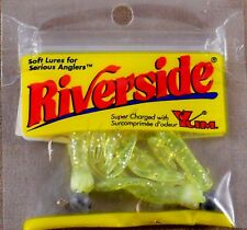 Rare Soft Plastic Lures Yum Riverside 1 inch LIL Crawdad 5 Pack With 2 Jigs