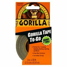 """Gorilla Glue Tape Handy Roll 1"""" wide x 9M Tape to Go Strong Duct tape"""