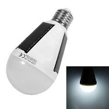85-265V E27 7W Energy Saving LED Light Lamp Rechargeable Solar Emergency Bulb BT