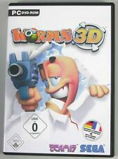 Worms 3D PC TEAM 17 XP Deutsch mit Handbuch