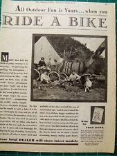 Vintage ad Cycle Trades of America 1931 Ride a Bike