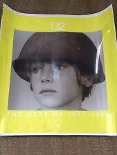 U2 Original Printers Plate The Best Of 1980-1990 Poster 1/1 Rare!