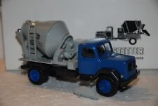 1/43 Conrad Camión Mezclador concreto Magirus 2 ases