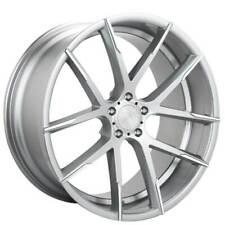 4 20 Lexani Wheels Stuttgart Silver With Machined Tips Rimsb41 Fits 2012 Jeep Grand Cherokee