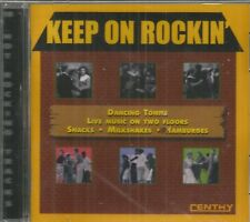 KEEP ON ROCKIN' - Dancing Tonite - Various Artists -28 Tracks - Brand NEW - CD