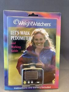 Weight Watchers Winning Points Pedometer and Walking Guide. NEW!
