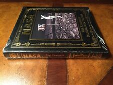 Easton Press NASA ILLUSTRATED HISTORY Aldrin SIGNED SEALED