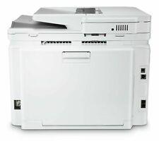 HP LaserJet M283FDW Wireless Colour Laser Printer - White - (with ink)GBR168.
