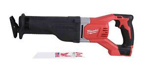 Milwaukee 2621-20 M18 18V SawZall Reciprocating Recip Saw (Bare Tool)