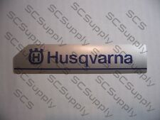Vintage chainsaw 281XP and 288XP Husqvarna clutch cover decal