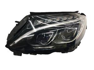 2015-2018 Mercedes Benz C-CLASS C300 C400 C205 C63 AMG Left Headlight LED OEM