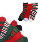 3 Pairs: Christmas Fuzzy Socks